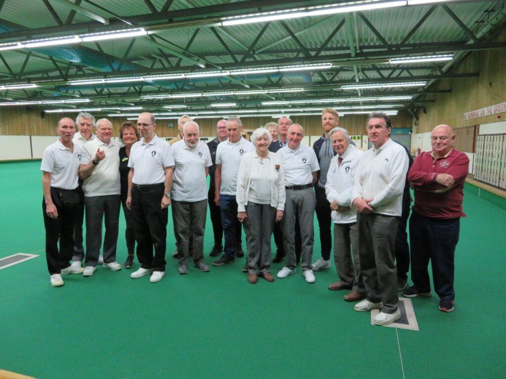 RAB Bowls team with Reading Football Club former players association